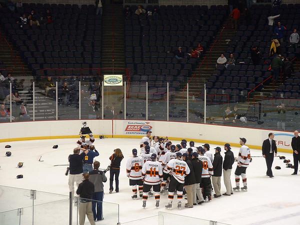 Princeton hockey wins the ECAC