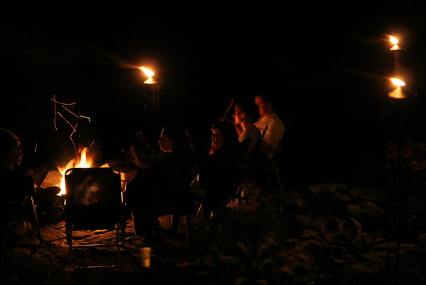 Campfire in Petersburgh