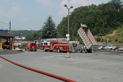 POTTSVILLE CITY HOSE AND BARRELL COMPETITION 7-19-08