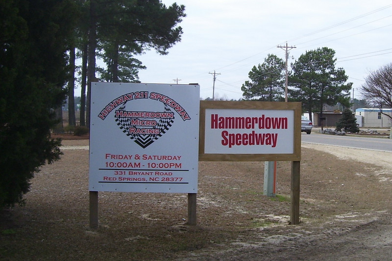 Welcome to HammerDown Speedway