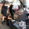 Top Alcohol Dragster Pits :