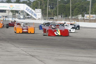 No-0803 Race Groups 4 and 7 - Formula Cars and Championship of Makes
