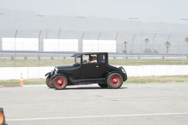 No-0804 The California Model A's and T's at Auto Club Speedway
