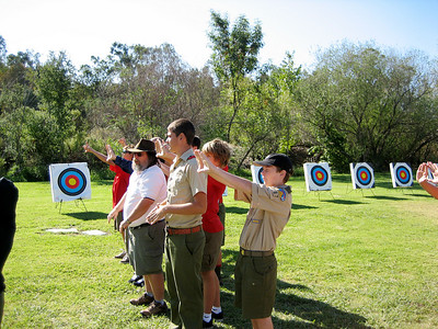 10/10/2008 Archery Merit Badge