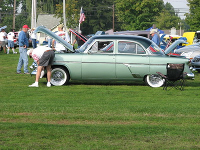 2008 Burton Middlefield Rotary Great American Car Show
