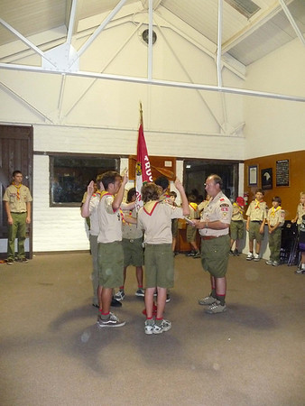 7/14/2008 - Troop Meeting