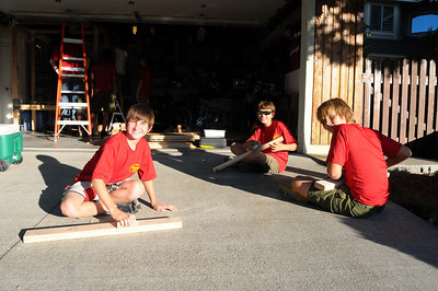 8/19/2008 - Ander's Eagle Project