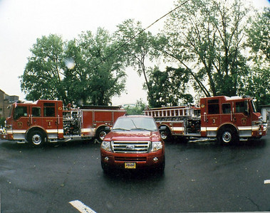Photo's from  Bogota Fire Dept. Triple Wetdown 6-14-08