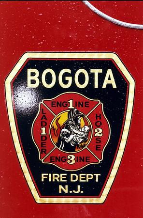 Bogota Fire Dept. Triple Wetdown 6-14-08
