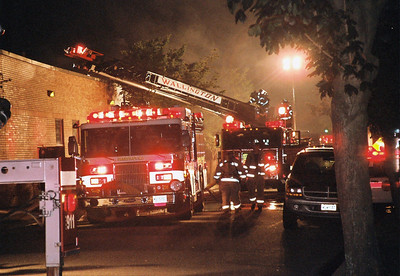 Photo's from Carlstadt 2nd alarm smoke Condition Garden St. SUN Chemical 23:30 hrs 8-22-08