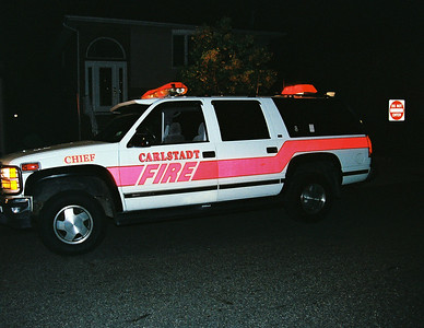 Carlstadt 2nd alarm smoke Condition Garden St. SUN Chemicail 23:30 hrs 8-22-08