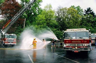 Demarest Fire Dept. Wetdown Ladder 1 (469)