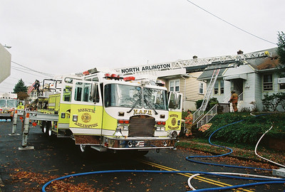 Photo,s from  North Arlington 2nd Alarm Fairmont Ave 11-15-08
