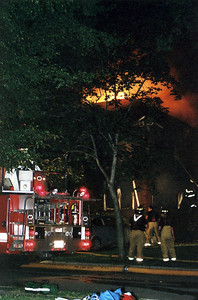 Photo's from Teaneck 3rd alarm Fatal W/S/F/ Sherman Ave. 8-9-08