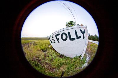2008 Folly Boat painting