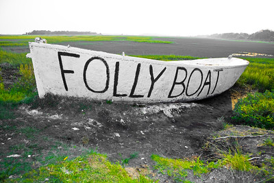 2008 Folly Boat painting