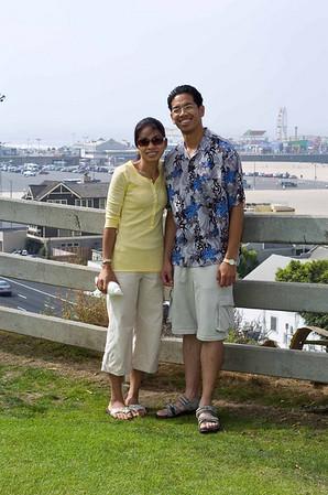 Santa Monica Beach: August 2, 2008