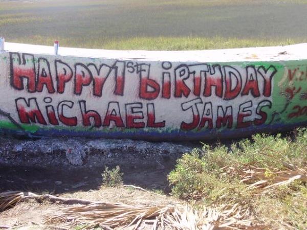 2008 MICHAEL JAMES BIRTHDAY