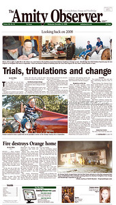 Amity Observer (FRONT PAGE) 12/31/08