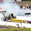 Top Alcohol Dragster Burnouts :