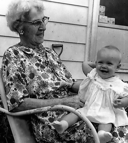 Aunt Mandy and Debbi. 1964