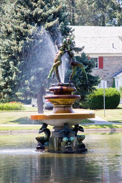 """Dance of the Eternal Spring"" Fountain. Italian Gardens, Harrisburg PA 08-08-08"