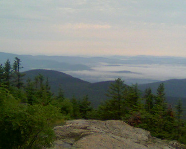 Mt. Kearsarge Run - Cell Phone Pix