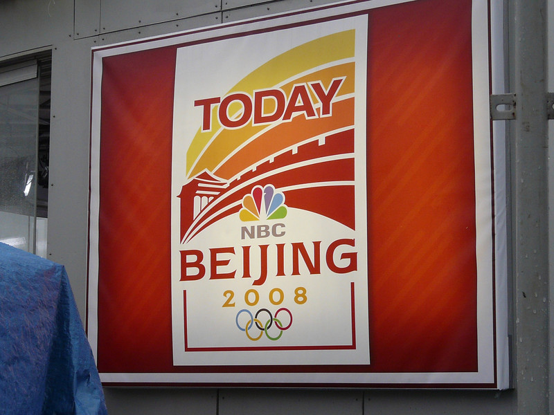 Today Show on Olympic grounds