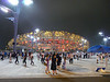 Bird's Nest Stadium at night