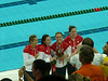 silver medal 4X100 freestyle relay