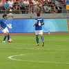 soccer, Workers Stadium, Italy vs Belgium