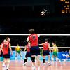 Men's Volleyball Gold match def  Brazil_K2K5901