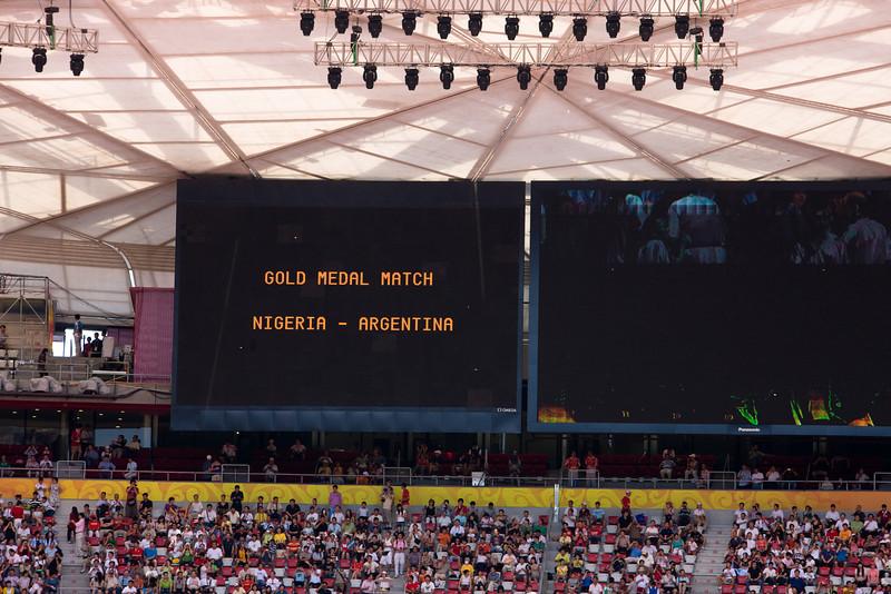 2008 Olympics gold Argentina def  Nigeria3K2K4648
