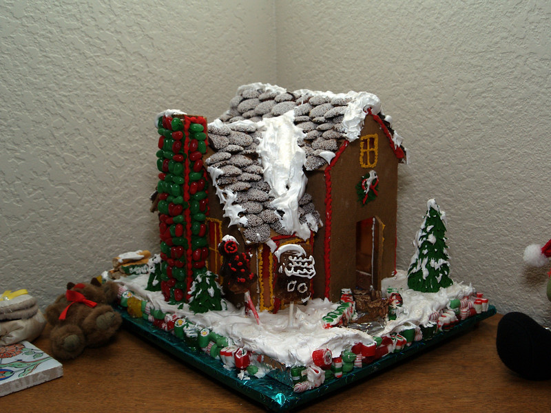 Gingerbread House from Two Years Ago