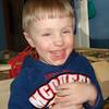 Aidan's goofy face!