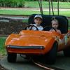 driving in the corvette