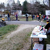 1st runner dawdles at the aid station (why is everyone else in such a rush?)