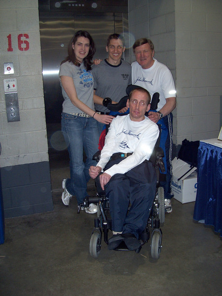 "Jenny Boyd and Ken Trombatore with Rick and Dick Hoyt, 2 of the greatest athletes that ever lived.<br />  <a href=""http://www.youtube.com/watch?v=f4B-r8KJhlE&feature=related"">http://www.youtube.com/watch?v=f4B-r8KJhlE&feature=related</a>"