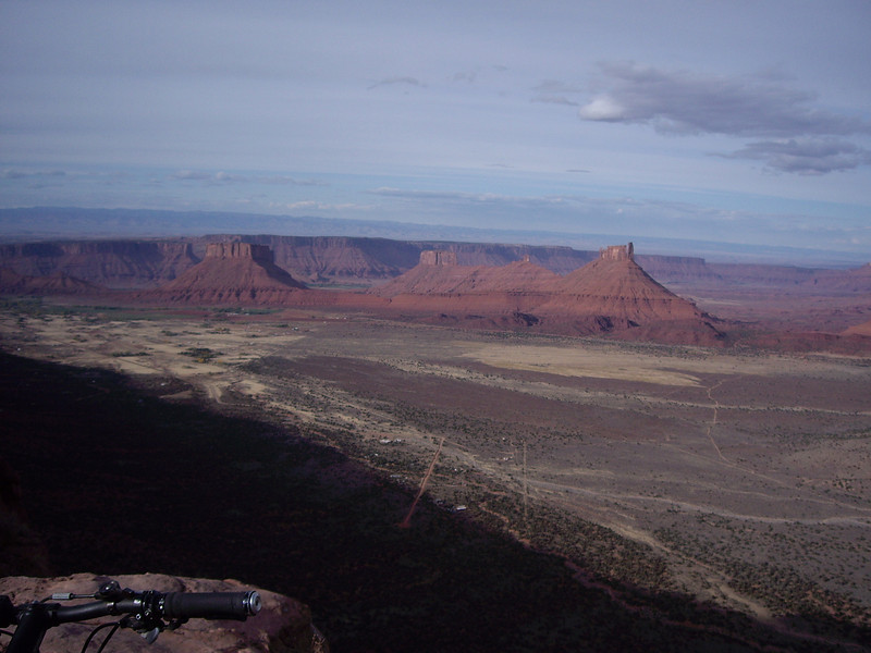 View from the top. Day one-Porcupine Rim Trail