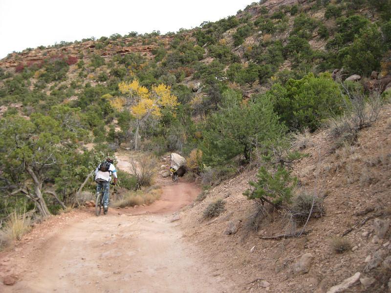 Day one-Porcupine Rim Trail