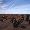 Hans brake pad change. day one-Slickrock Trail