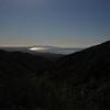 Santa Monica bay from the Backbone trail
