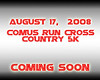 Comus Run Cross Country 2008 :
