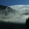 Morning Fog at the Kootenai Falls