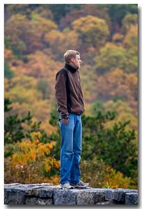 Jon searching for deer