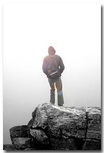 Jon at Black Rock Summit