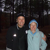 My devoted hubby who doesn't like marathons but came to run with me anyway.