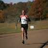 Sam out for a jog along Dyer Road in the Chickamauga Battlefield park.  Sam placed 7th with a time of 2:59:22.  Awesome!