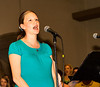 Lindsay Walker sings out