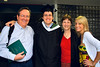 And here is the entire family with the graduate.